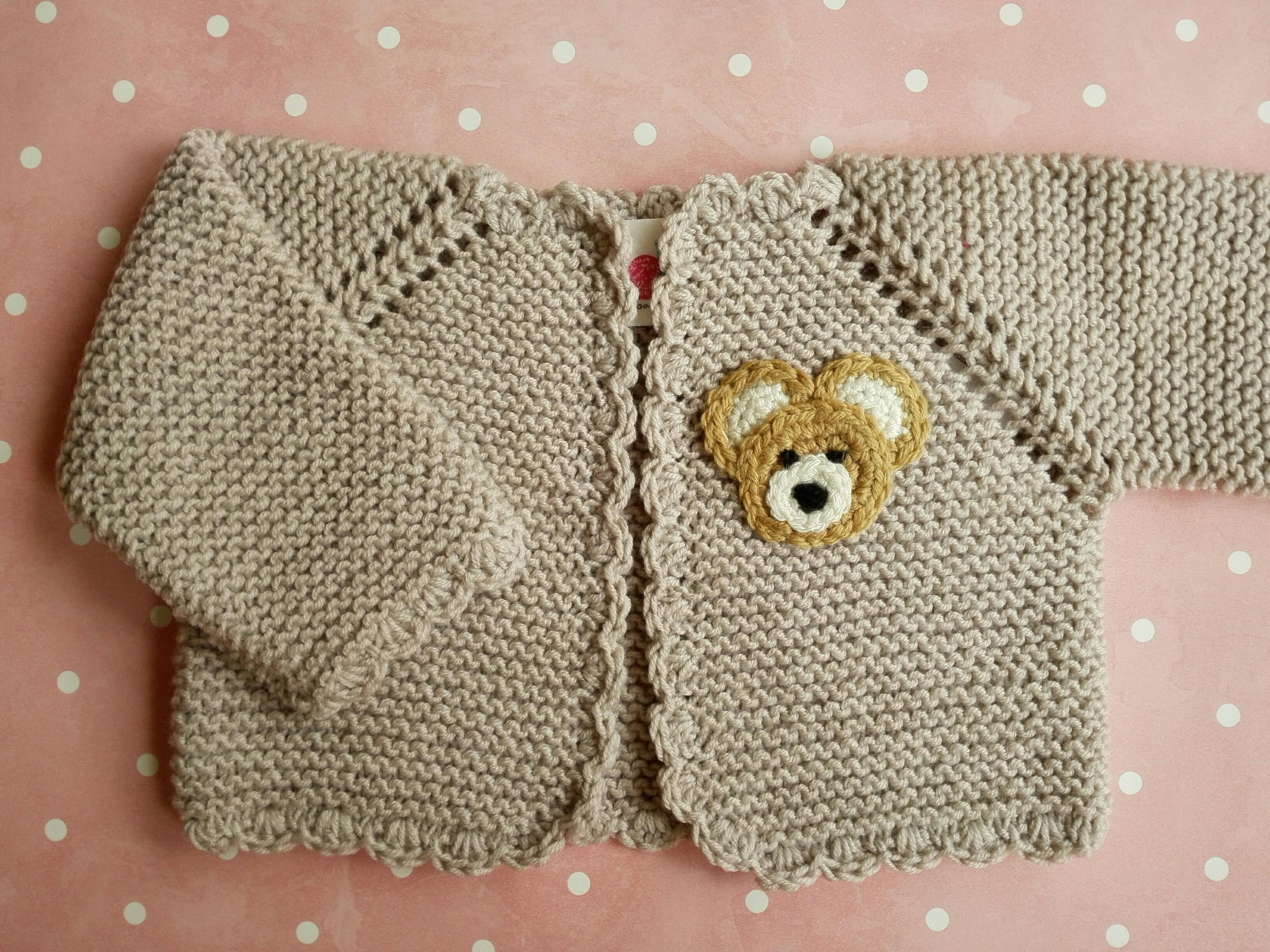 8e054bd32 Comprar chaqueta bebé de 0 a 3 meses de lana merino beige