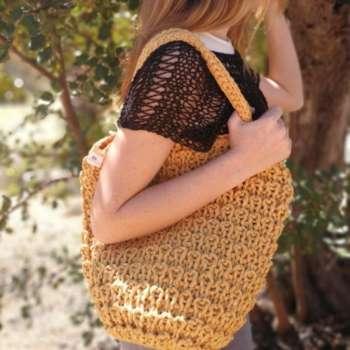 605cd4cbb Comprar bolsos hechos a mano - Punto, ganchillo, crochet ...